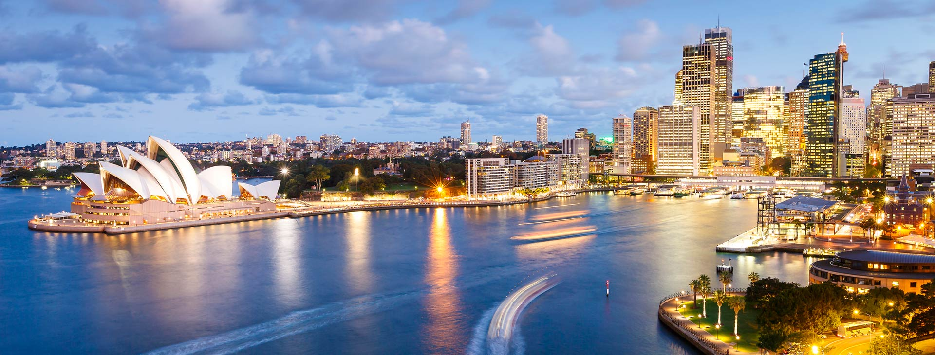 Pripojiť webové stránky Sydney