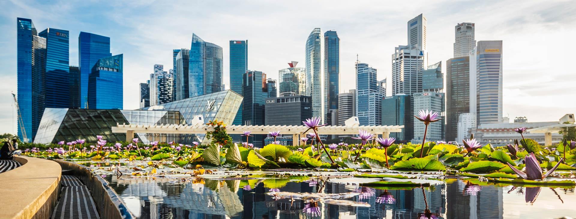 je ľahké pripojiť sa v Singapure
